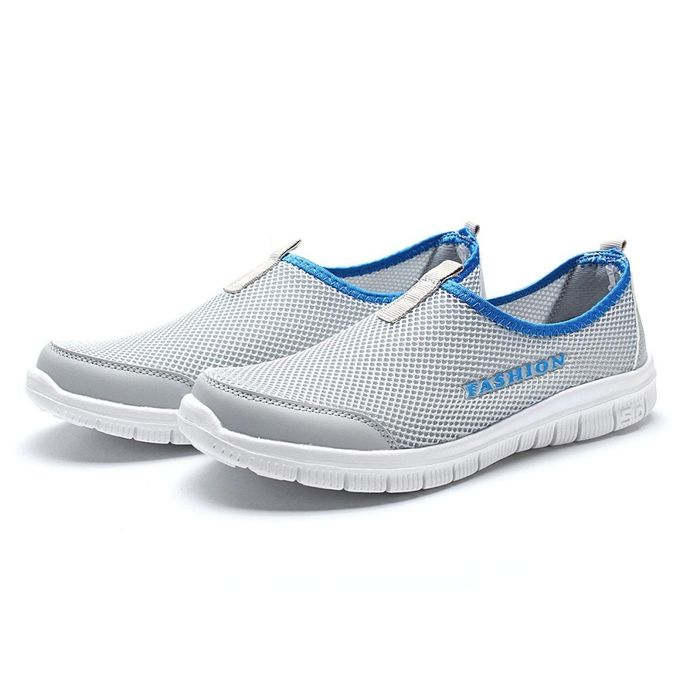 a1e1d2f527e5 Men s Sport Water Shoes Lightweight Breathable Outdoor Slip On Runnning  Shoes