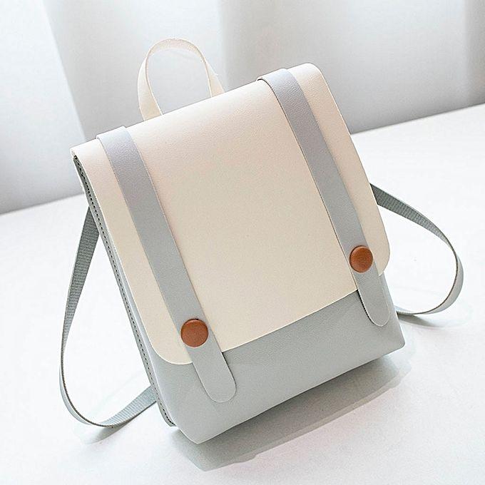 6fb382b469ff Women Backpack Shoulder School Book Travel Handbag Rucksack Bags Girl  Travel Bag