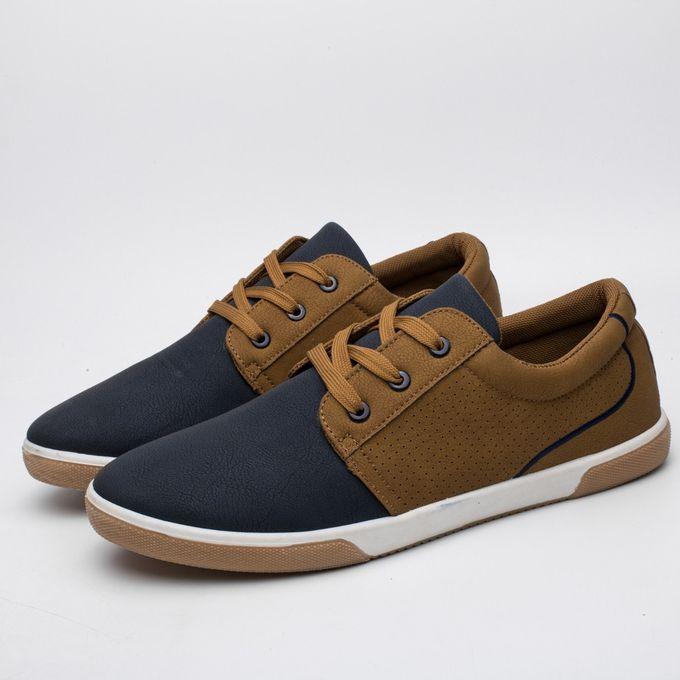 7e736034432c Men s Casual Shoes Autumn Shoes Men Loafers Adult Moccasins Male Shoes  BU 40-Blue CN
