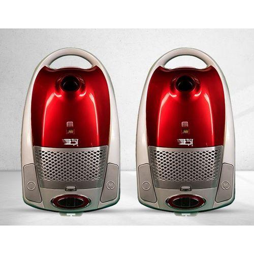 2 مكنسة كهربائية - 2300 واط – أحمر