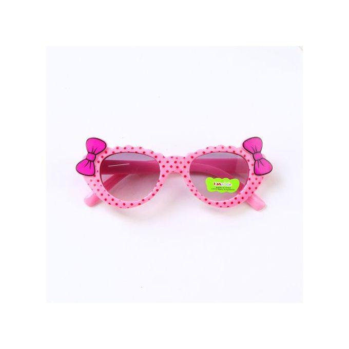 8830cd001170 Lodaon Anti-UV Sunglasses Kids Boys Baby Girls Cartoon Protective Glasses  Bow Pop