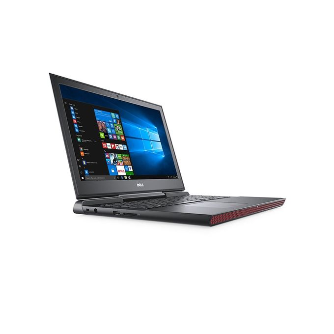 DELL لاب توب Inspiron 15-7567 - إنتل كور i7 - رام 8 جيجا بايت - هارد ديسك درايف 1 تيرا بايت - معالج بيانات 4 جيجا بايت - شاشة عالية الجودة 15.6 بوصة - Ubuntu - أسود