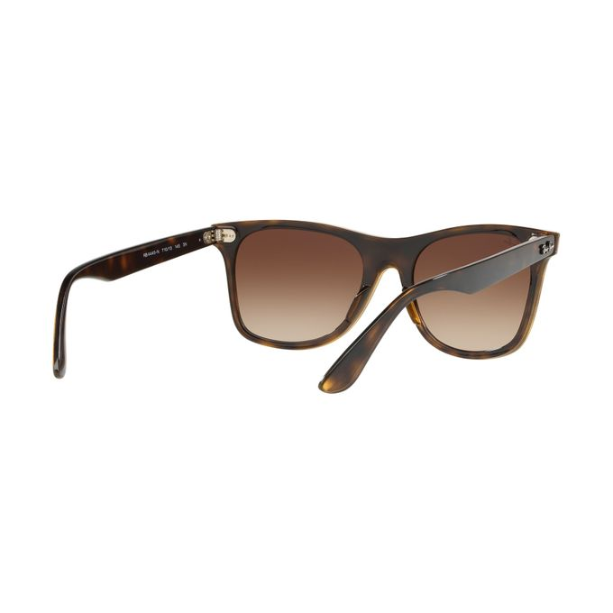 ed2e8fc73f ... Ray-Ban BLAZE WAYFARER RB 4440N HAVANA BROWN SHADED Unisex Sunglasses  ...