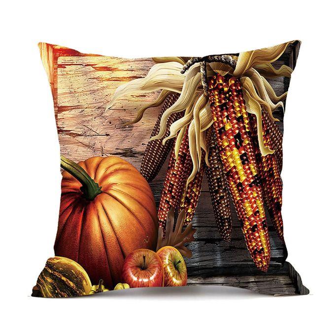 1PC Thanksgiving Square Cover Decor Pillow Case Sofa Waist Throw Cushion Cover A –  مصر