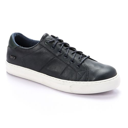 Sports Lace Up Shoes - Blue