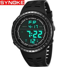 SYNOKE Fashion Men's Digital Watches Outdoor Sports Mens Watches Waterproof Electronic Watches