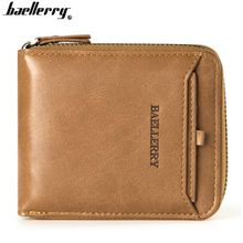 PU Leather Men Wallets Card Holder Purse Fashion Male Clutch