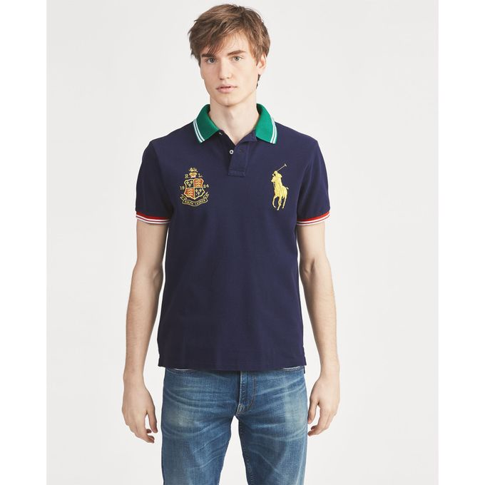7b4cdd71 ... Polo Ralph Lauren Custom Slim Fit Mesh Polo · Custom Slim Fit Mesh Polo