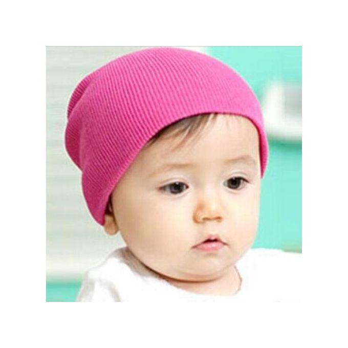 70cda45aabf Baby Beanie Boy Girls Soft Hat Children Winter Warm Kids Knitted Cap Hot