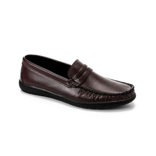 Casual Slip On Men Shoes - Brown