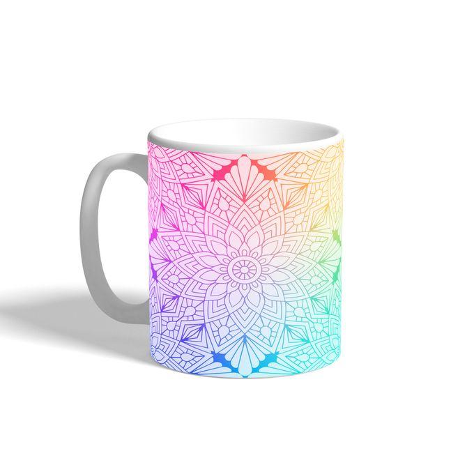 Printed Mug – Multicolored – 300 Ml –  مصر