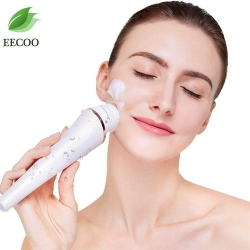 Universal Kemei 5 In 1 Rechargeable Ladies Epilator Facial Hair