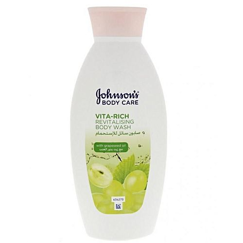 Vita rich revitalising body wash with grapeseed oil for Vita craft factory outlet