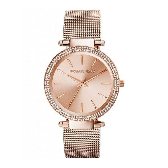 81b3e508ade6 Sale on Michael Kors Women s MK3369 - Darci Rose Gold Tone Watch ...