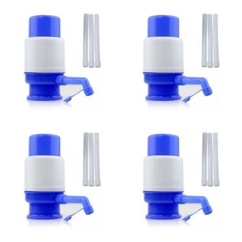 Manual Water Pump - White/Blue - 4 Pcs