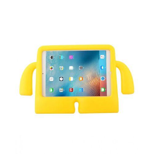 Cartoon Shockproof EVA Kids Friendly Case Stand - For iPad 9.7 (2018) / 9.7 (2017) / Air 2 / Air - Yellow