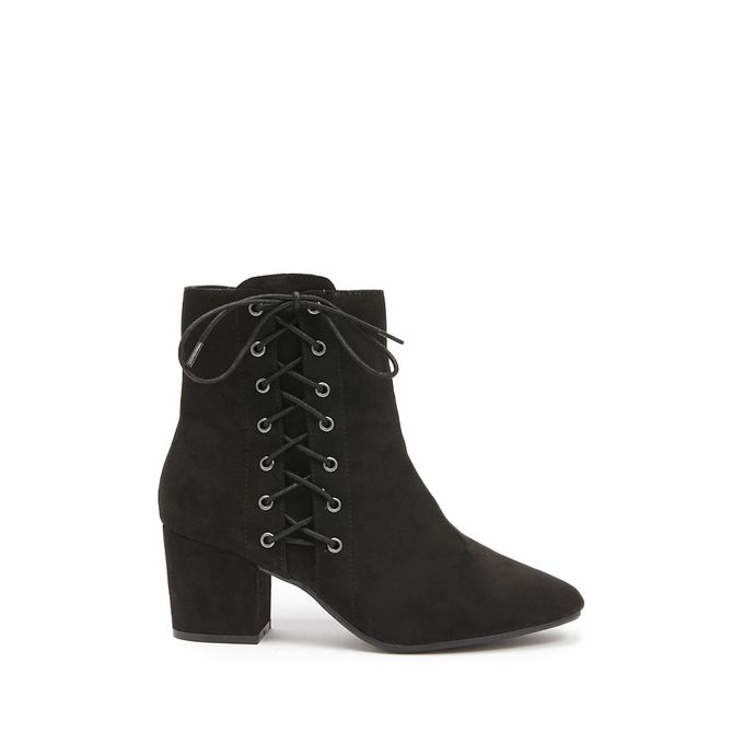 73fdf1cd172 Jumia Anniversary Deal! Sale on Faux Suede Lace-Up Ankle Boots ...