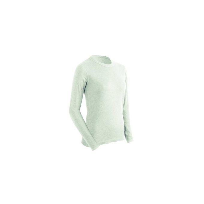 ColdPruf Womens Basic Dual Layer Long Sleeve Base Layer Top [Winter White, Medium]
