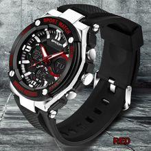 7d2c14e36 Guoaivo Luxury Mens LED Digital Sports Watch Waterproof Rubber Date Alarm  Wrist Watch