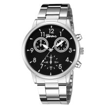 dfe8a733a9726 Hiamok Fashion Geneva Women Stainless steel Watch Leisure Ladies quartz  wristwatch