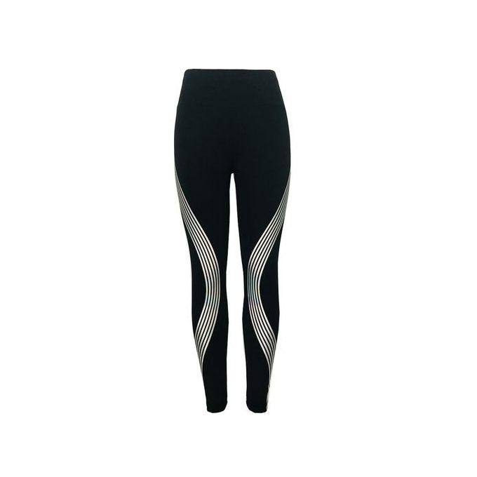 Fashion Style Women Neon Rainbow Leggings Fitness Sports Gym Running Yoga Athletic  Pants 636433ce48