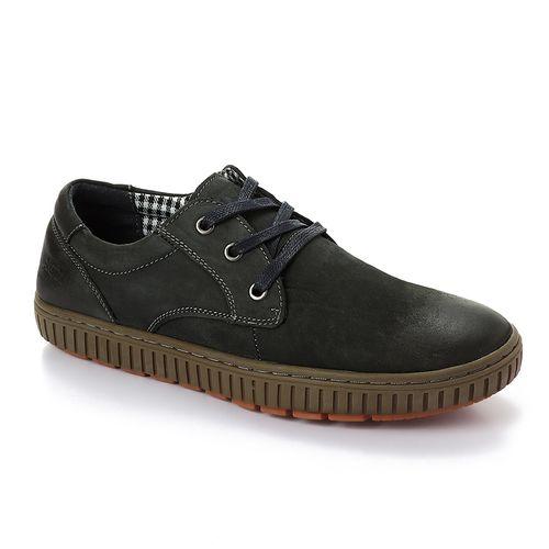 Casual Suede Slip On Shoes - Dark Grey