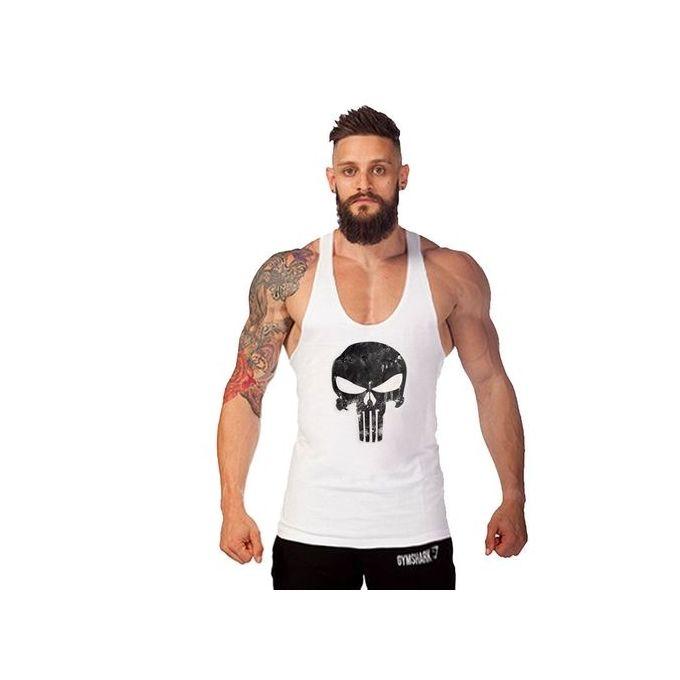 5dbab7b4 Men Tops Tees Vest Muscle Guys Bodybuilding Underwaist Stringer Tank Tops  Summer Mens Fitness Workout Singlet