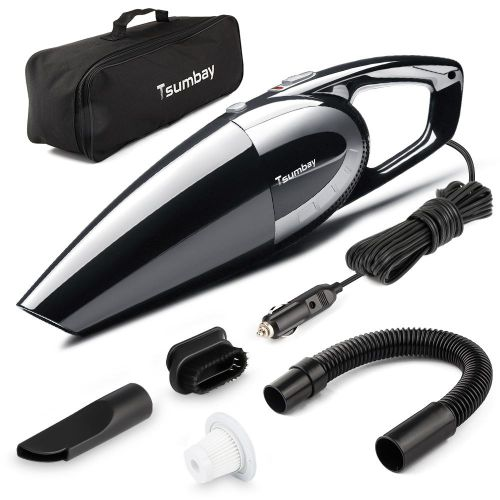 Order Portable Car Vacuum Cleaner 5000pa 120w 12v Power Suction