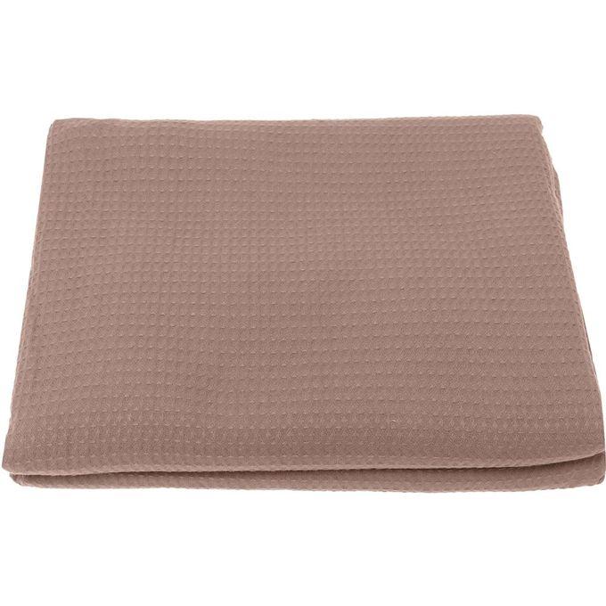 1010 Double Bedspread – 260X240cm – Beige –  مصر