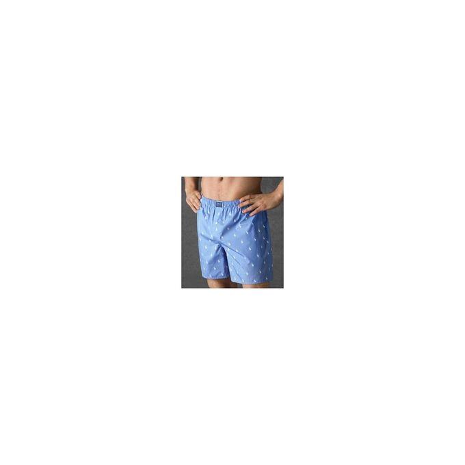 Polo Player Woven Boxer [Bleach Blue, Small]