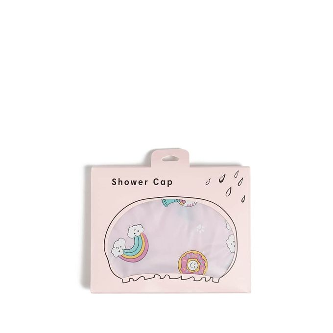 Gumball Machine Graphic Shower Cap