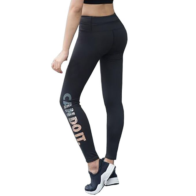 0a29b010ff376 Tectores Women Skinny Leggings High Waist Elastic Yoga Fitness Sports Capri  Pants Gift