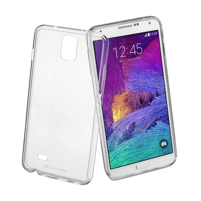 Generic Back Transparent Cover For Samsung Galaxy Note 4 ...