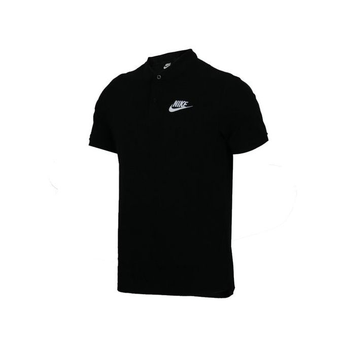 sale retailer 16cd6 53ead Nike Summer Men's Black Short-sleeved Polo Shirt 909747-010