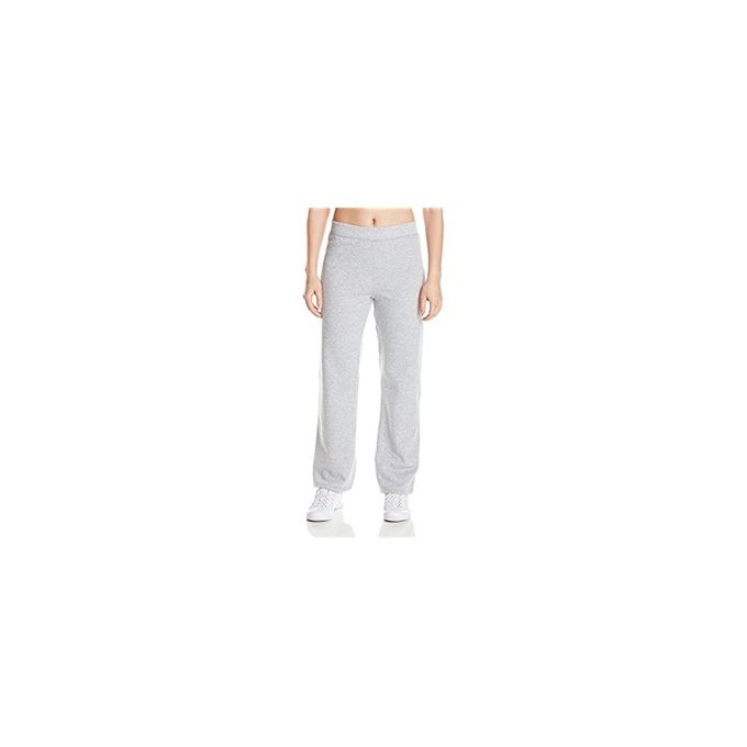 Hanes Womens Middle Rise Sweatpant [Light Steel, Large Petite]