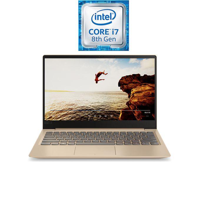 IdeaPad 320S-13IKB - انتل كور i7 - رام 8 جيجا بايت - هارد SSD 512 جيجا بايت - شاشة بحجم 13.3 بوصة  FHD  - رسومات انتل - ويندوز 10 - ذهبي