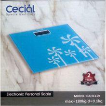 ميزان ديجيتال -180 كجم - أزرق