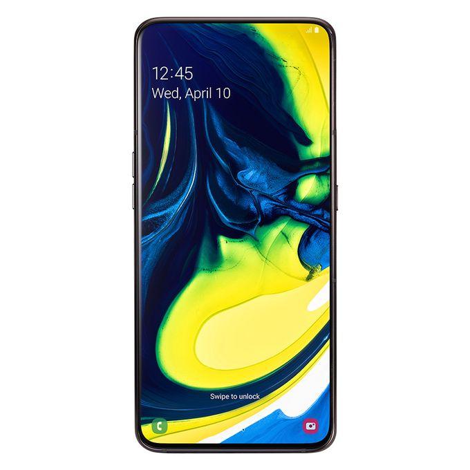 Samsung Galaxy A80 - 6.7 بوصة 128 جيجا بايت موبايل ثنائي الشريحة - أسود