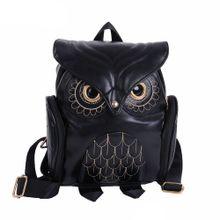 f69f53741 Fashion Cute Owl Backpack Women Cartoon School Bags For Teenagers Girls