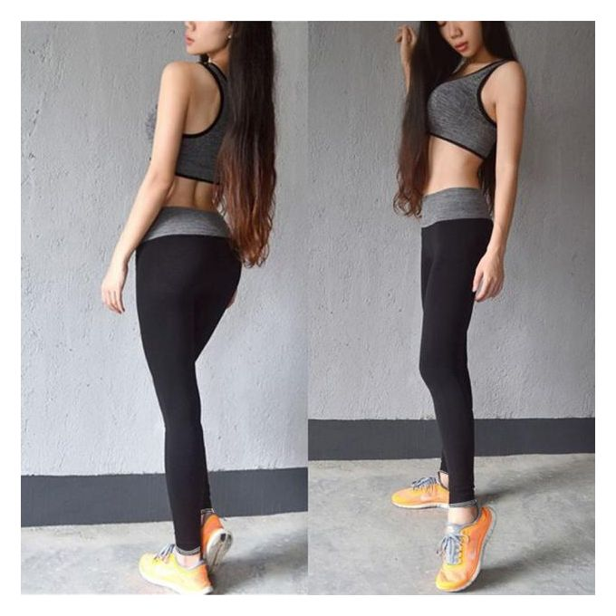 46bf39d99d12d Tectores Womens Leggings Running Yoga Sports Fitness Gym Stretch Pants  Trousers S/L Gift