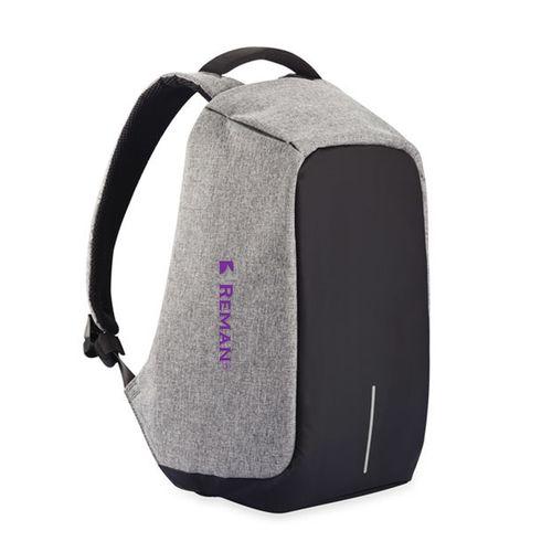 8ea26699de21 REMAN Business Waterproof Laptop Backpack With USB Charging Port   Headphone