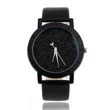 514c6a57f Zetenis_Star Minimalist Fashion Watches For Lovers Leather Strap Watch BK
