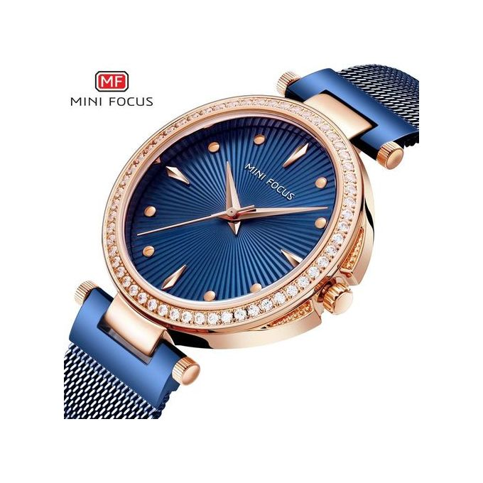 Wristwatches Energetic Mini Focus Fashion Brand Women Rhinestone Quartz Watch Ladies Girls Wrist Watch High Standard In Quality And Hygiene Watches, Parts & Accessories