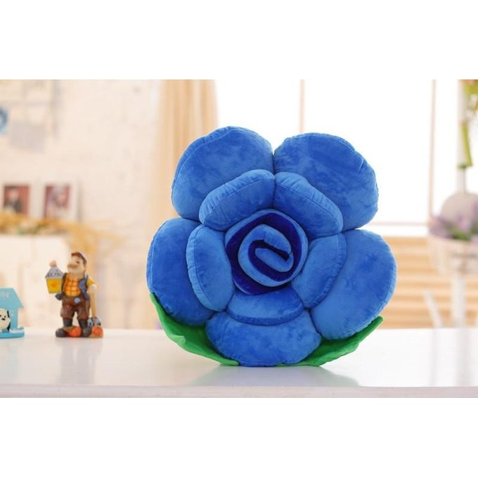 3D Colorful Rose Flowers Throw Pillow Plush Cushion Valentines Gift –  مصر