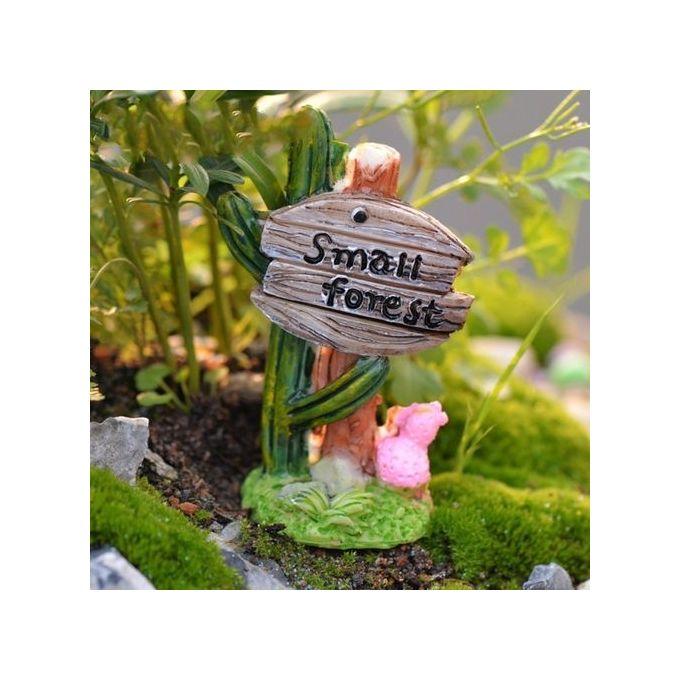 Miniature Resin Cactus For Mini Plant Pots Fairy Decor DIY Garden Dollhouse –  مصر