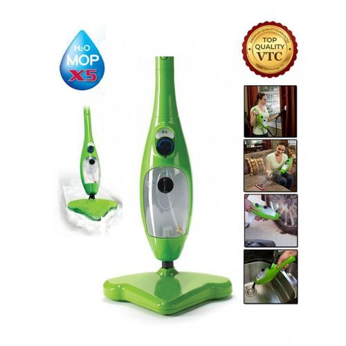 H2O Mop X5 - 5 In 1 Steam Mop - Green