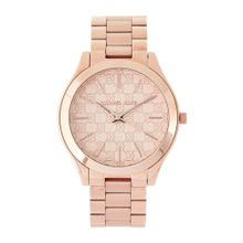 e4937d5cb Michael Kors MK3336 Womens Slim Runway Rose Gold-Tone Stainless Steel Watch