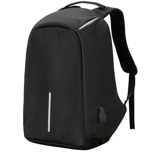 7c3e2707030 17.3 15.6 In Laptop Bag Men Backpacks Oxford Anti Theft Backpack Women Bag  USB Charge School Mochila Waterproof Travel Back Pack(Black)