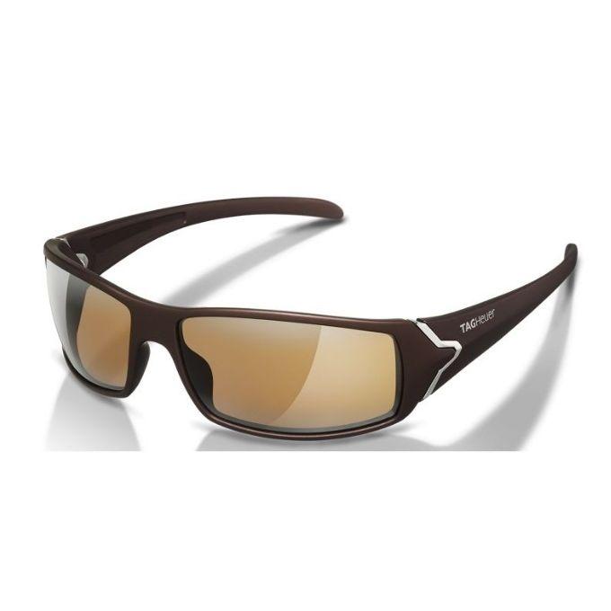 c47fc5012 نظارة شمسيه تاج هوير إطار بلاستيك بني و ذراع بني مع عدسات بولاريزد بني