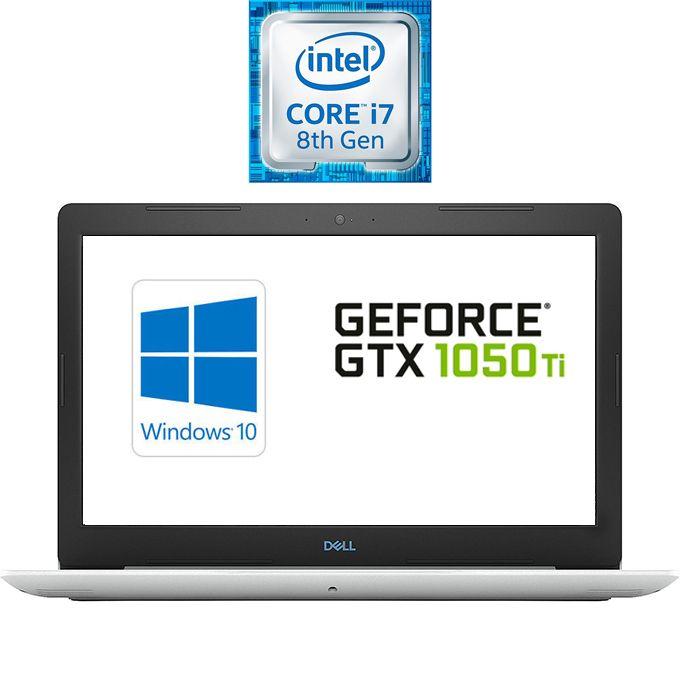 DELL G3 15-3579 Gaming Laptop - Intel Core I7 - 8GB RAM - 1TB HDD + 128GB SSD - 15.6-inch FHD - 4GB GPU - Windows 10 - White - English Keyboard